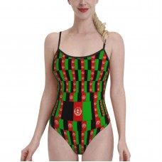 AfghanistanWomens Swimwear One Piece Swimsuitsswimming pool,Polyester.