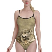 Forest WolfWomens Swimwear One Piece Swimsuitsswimming pool,Polyester.