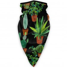 Geat CactusSun UV Dust Face Scarfdo-rag (3.94*3.94*0.79 inches). Polyester.