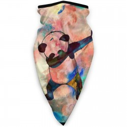 Sun UV Dust Face Scarfneckband (3.94*3.94*0.79 inches). Polyester.