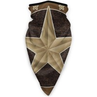Western Texas StarSun UV Dust Face Scarfponytail (3.94*3.94*0.79 inches). Polyester.